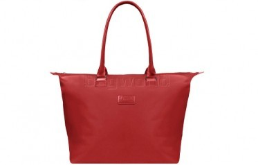 lipault lady plume tote bag(红色中号)